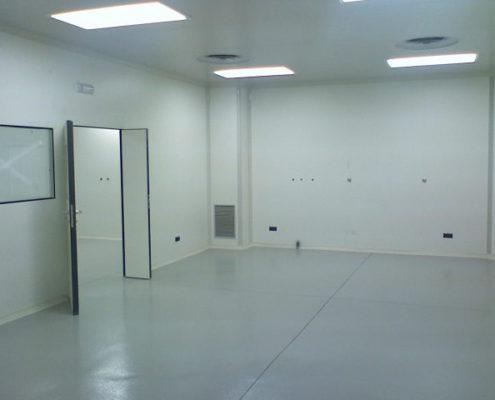 Imagen de la construcción del laboratorio - 1
