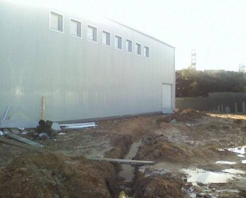 Imagen de la construcción del laboratorio - 5