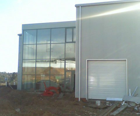 Imagen de la construcción del laboratorio - 4
